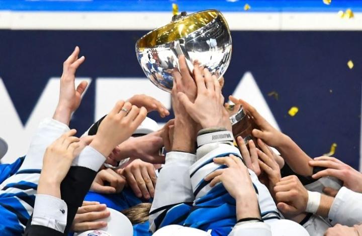 Tämän vuoden MM-turnaus on määrä järjestää 21. toukokuuta–6. kesäkuuta. Kuvituskuvaa. LEHTIKUVA / AFP / JOE KLAMAR