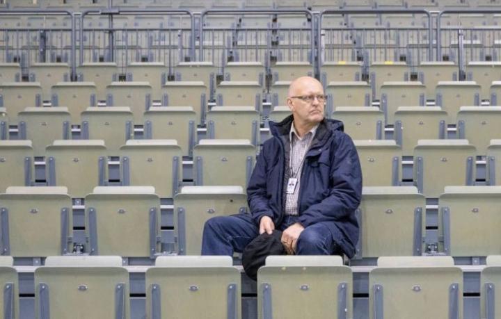Matti Immoselle on kertynyt Pohjois-Karjalaan kattava verkosto 35-vuotisen työuran aikana. Hän vastaa Yrittäjäpäivien turvajärjestelyistä.