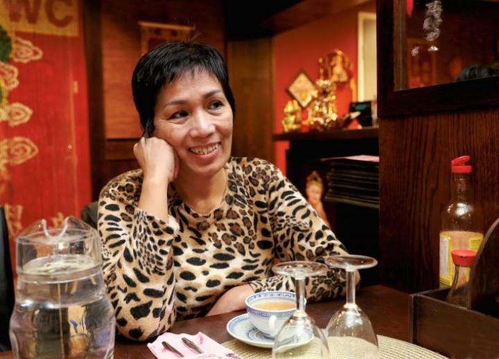 Joensuussa toimii useitakin vietnamilaistaustaisten perustamia yrityksiä, kuten Silver Dragon -ravintola Isossa Myyssä. Kuvassa Phuong Dao, jonka puoliso perusti yrityksen vuonna 2011.