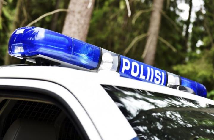 Kiinniotto sujui poliisin mukaan rauhallisesti, eikä sivullisille aiheutunut vaaraa. LEHTIKUVA / EMMI KORHONEN