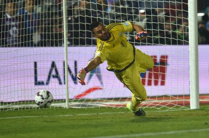 Argentiinan jalkapalloliitto kertoi nimeävänsä Romeron tuuraajan lähipäivinä. LEHTIKUVA/AFP