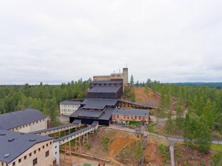 Perjantai-illan kilpailumaastona toimii Vanhan kaivoksen alue Outokummussa.