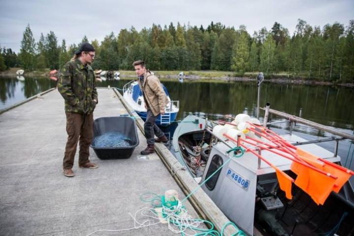 Antero Suokas (vas.) ja Samu Hurskainen perustivat uuden yrityksen.