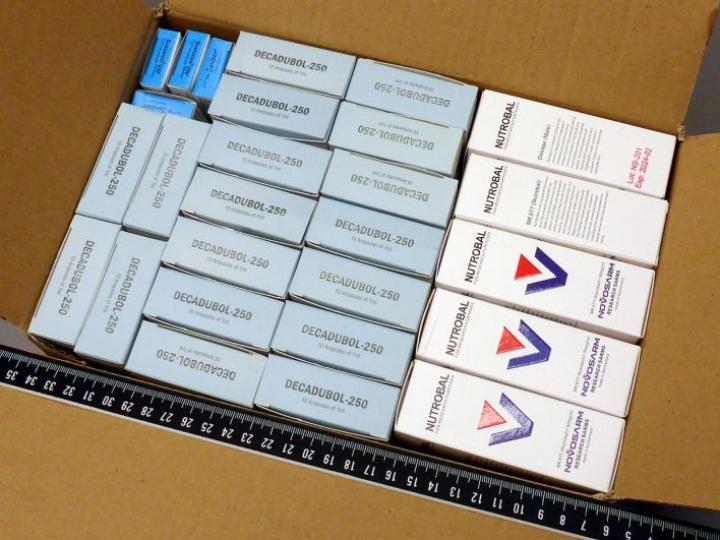 Dopingaineita ja lääkevalmisteita tuotiin Suomeen ja myytiin muun muassa Tor-verkon Silkkitie-kauppapaikalla. LEHTIKUVA / HANDOUT / TULLI JA KRP