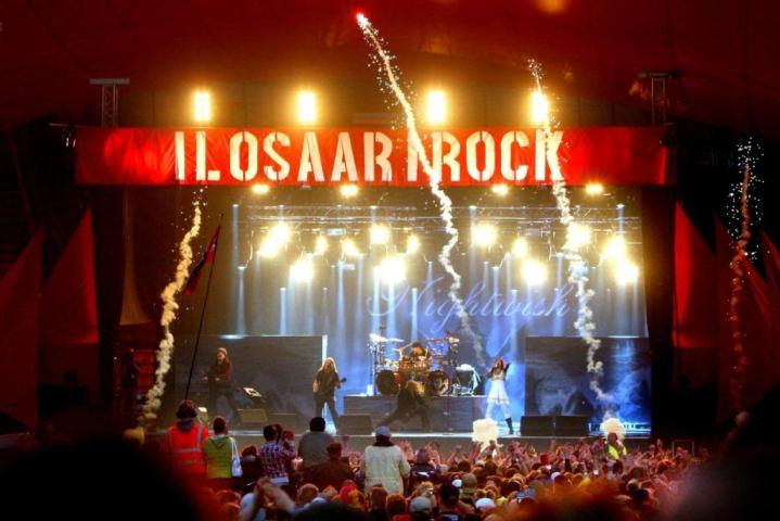 Nightwish tulee ensi kesän Ilosaarirockiin. Viimeksi bändi esiintyi tapahtumassa kesällä 2008.