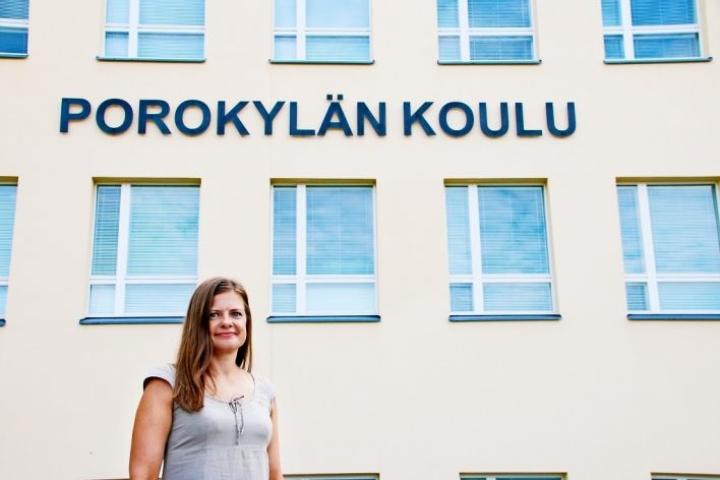 Katja Tolvanen arkistokuvassa elokuussa 2018
