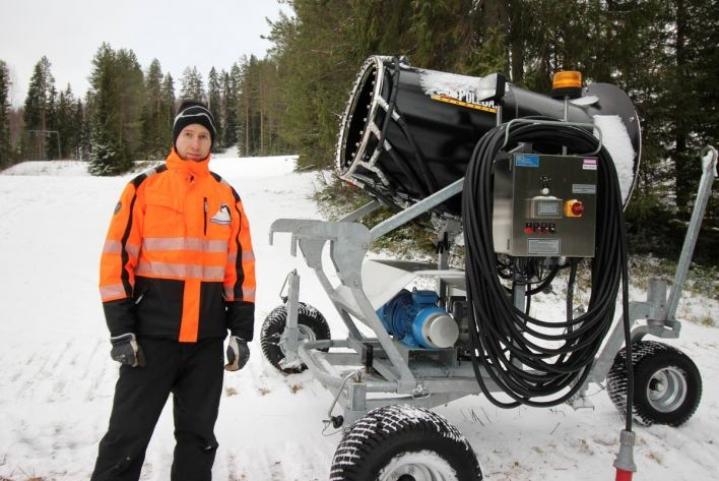 Petri Valkama lupaa, että nappularinne saadaan avattua vielä tammikuun aikana.