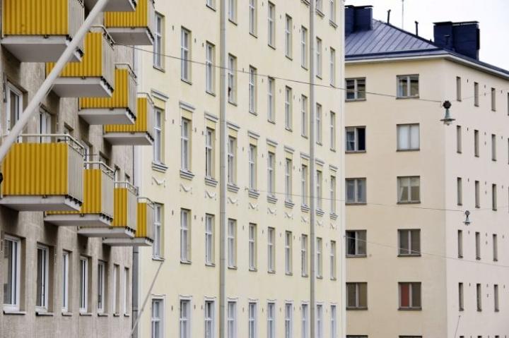 Suurimmalla osalla asuntosijoittajista on vain yksi vuokra-asunto. LEHTIKUVA/Irene Stachon