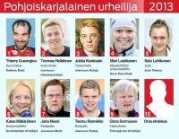 Äänestä vuoden 2013 pohjoiskarjalainen urheilija
