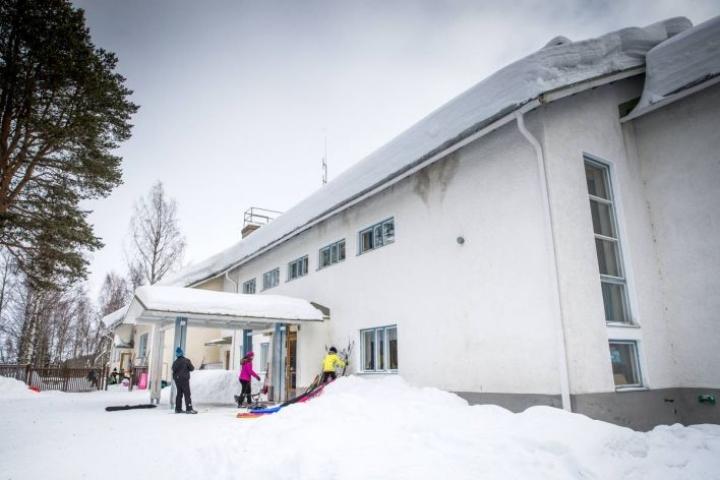 Kolin koulu. Arkistokuva vuodelta 2018.
