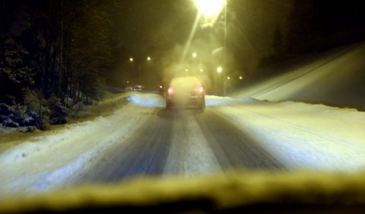 Pohjoisessa on taas oltava varovainen liikenteessä. Lehtikuva / Heikki Saukkomaa
