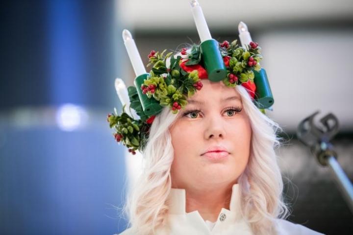 Luciana toimi Joensuussa Pataluodon koulun Mettica Matikainen.