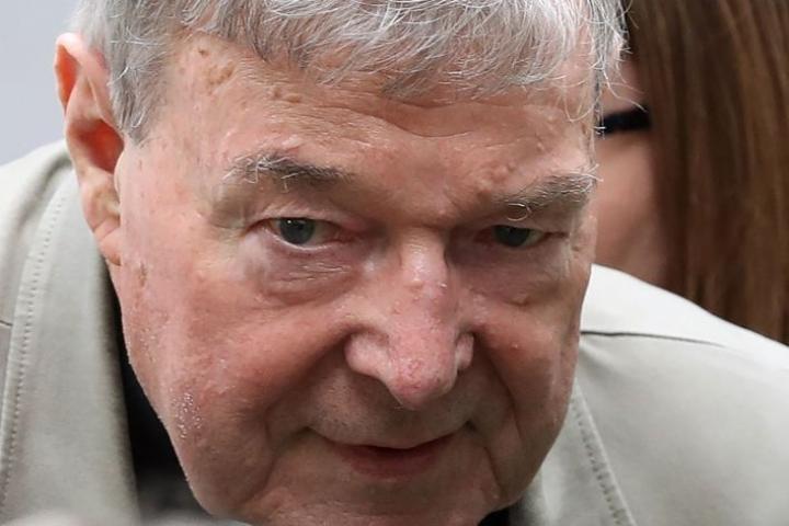 77-vuotias George Pell todettiin syylliseksi kahden kuoropojan seksuaaliseen hyväksikäyttöön kirkon sakastissa Melbournessa 1990-luvulla. LEHTIKUVA/AFP