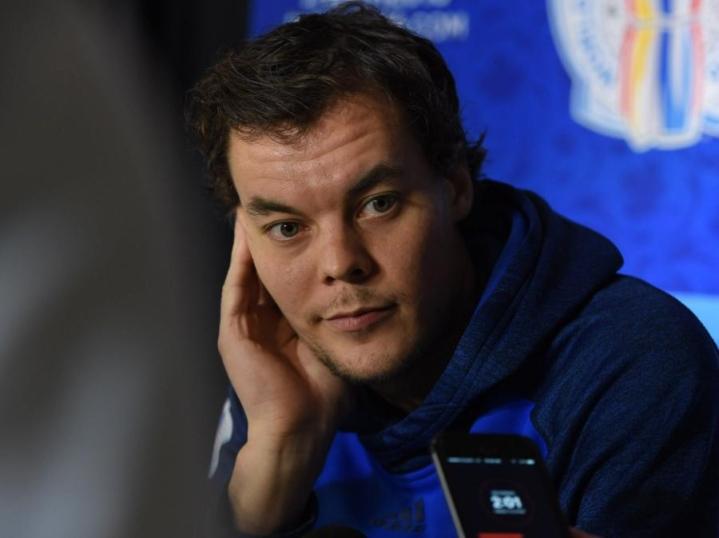 Tuukka Rask oli Bostonin maalilla ohittamaton. LEHTIKUVA/AFP