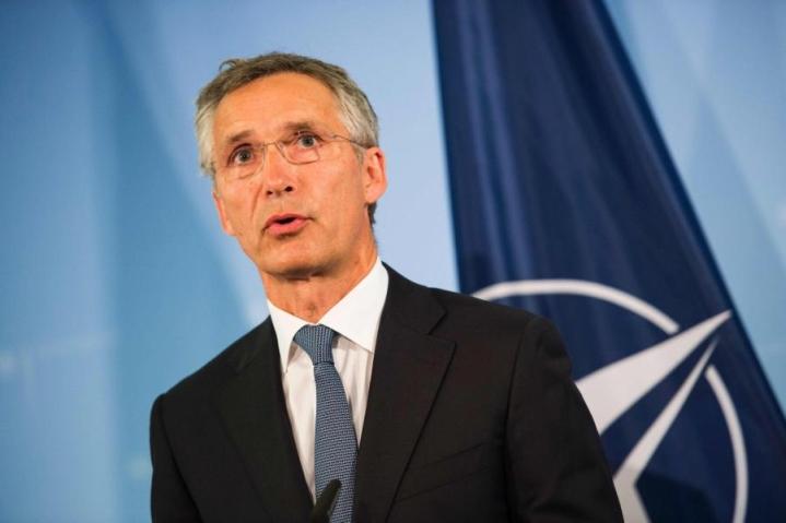 Naton pääsihteerin Stoltenbergin mukaan vahva eurooppalainen puolustus on Natolle eduksi. LEHTIKUVA/AFP