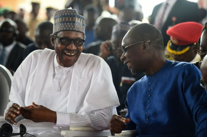 Muhammadu Buharin voitto oli ääntenlaskennan perusteella selvä, kun viimeisten osavaltioiden ääniä vielä odotettiin. LEHTIKUVA/AFP