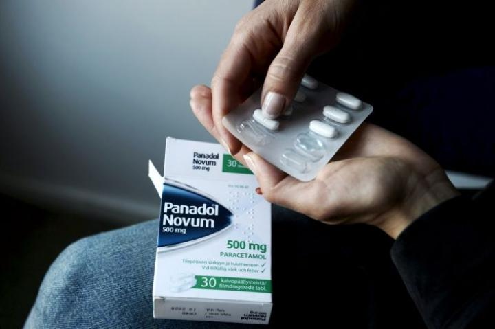 Parasetamolia sisältävien särkylääkkeiden kulutus on jatkuvassa nousussa. LEHTIKUVA / OLIVIA RANTA
