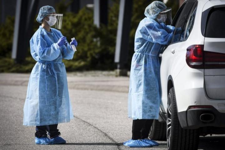 Suomessa on todettu 10 uutta koronavirustartuntaa. LEHTIKUVA / Emmi Korhonen