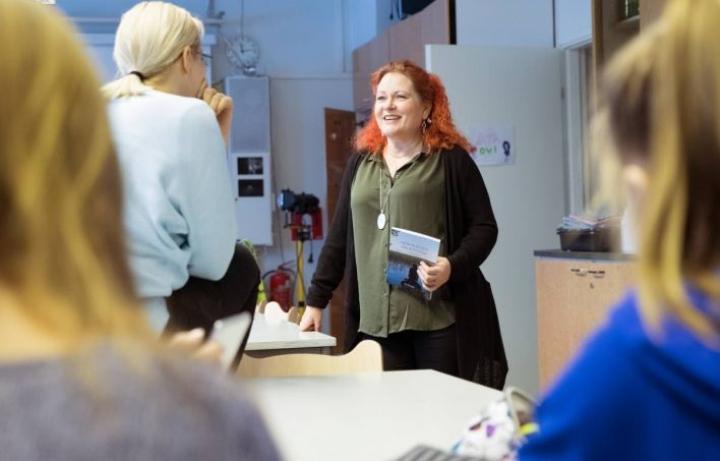 Virpi Eronen on hoitanut Liperin koulun vt. rehtorin tehtäviä tänä lukuvuonna. Myös Eronen on hakijoiden joukossa.