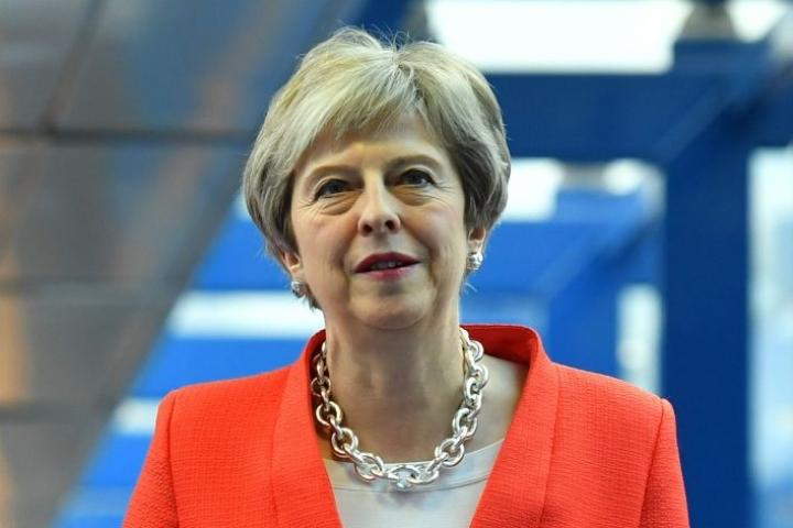 Muun muassa Britannian pääministeri Theresa May syyttää Venäjää kansainvälisten arvojen sivuuttamisesta. LEHTIKUVA/AFP