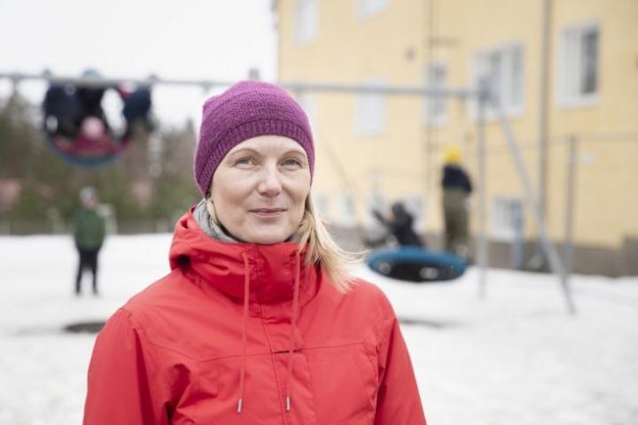 Niina Hirvonen lähtee sosionomikoulutukseen.