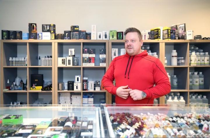 Antti Rautiaisen liike on osa valtakunnallista Puff-ketjua.