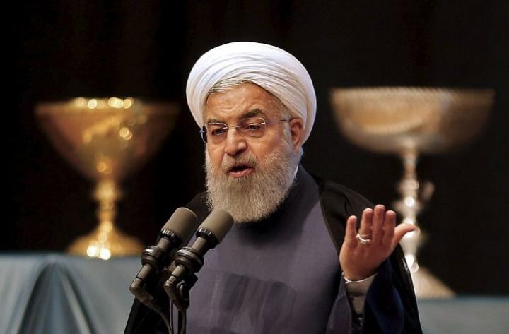 Iranin presidentti Hasan Ruhani on luvannut, että kaikkia koneen ampumiseen liittyneitä vastuuhenkilöitä rangaistaan ja että tapaus tutkitaan tarkasti. LEHTIKUVA/AFP