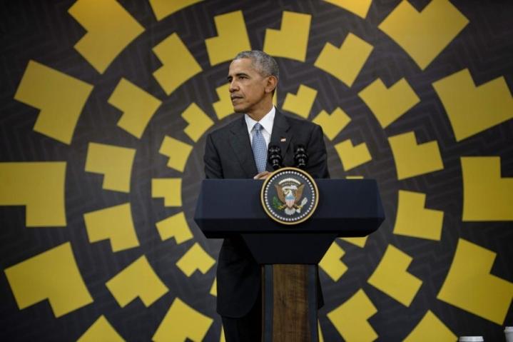 Yhdysvaltain presidentti Barack Obama haluaa löytää tien ulos Ukrainan konfliktista ennen kautensa loppua. LEHTIKUVA/AFP