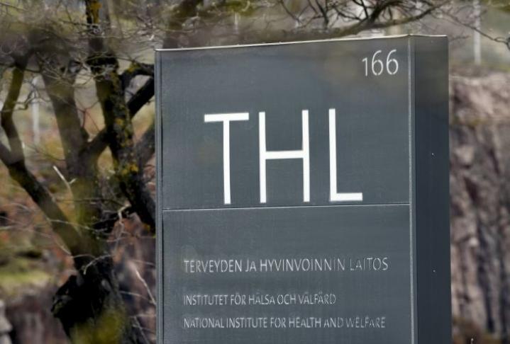 THL kertoo tuoreet luvut koronatartunnoista päivittäin.  LEHTIKUVA / MARKKU ULANDER