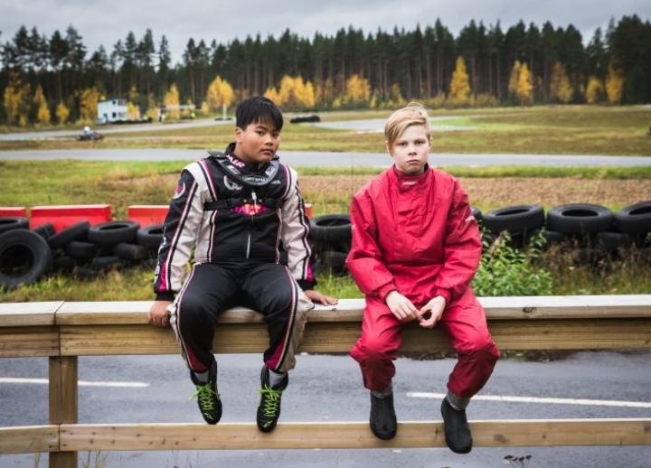 Niko Sinkkonen (vas.) ja Roope Silvonen arkistokuvassa syksyltä 2017.