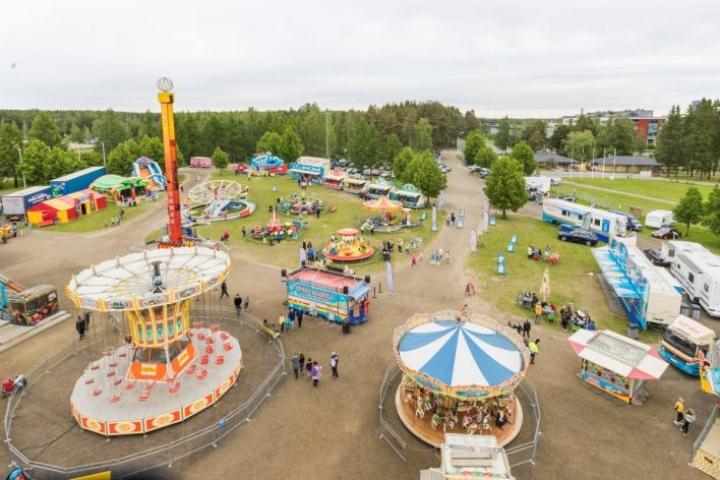 Tivoli Sariola on vieraillut Joensuussa viimeksi kesällä 2019.