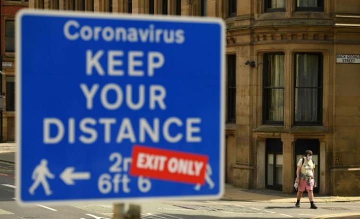 Englannin koronavirustilanne on alkanut kehittyä yhä huonompaan suuntaan. Lehtikuva/AFP