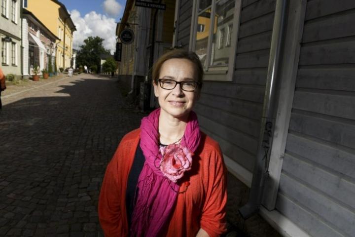 Porvoolaisen Eva Kyrklundin diagnoosin saanti kesti vuosia. LEHTIKUVA / Vesa Moilanen