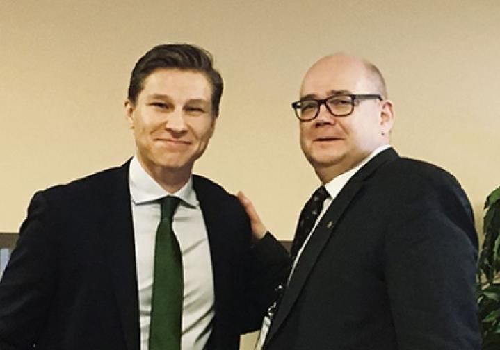 """Häkkäsen mielestä: """" Itä-Suomi tarvitsee taitavaa edunvalvojaa, joka ymmärtää elinvoiman ja hyvinvoinnin perustan sekä puolustaa suomalaisia arvoja"""""""