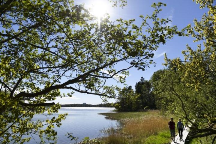 Helleraja voi rikkoutua Etelä- ja Länsi-Suomessa tulevien päivien aikana. LEHTIKUVA / VESA MOILANEN