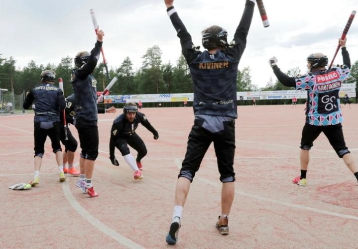 Joensuun Mailan Juha Puhtimäki toi juoksun, jonka jokeri Aleksi Rautiainen löi Kiteen Rantakentällä.