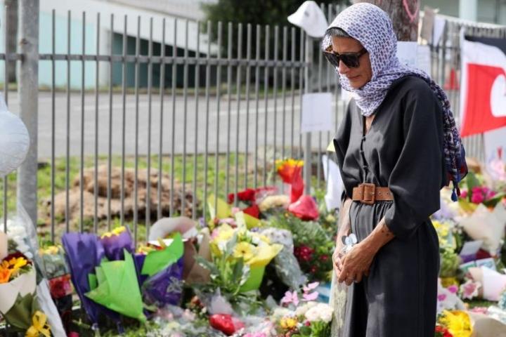 Uudessa-Seelannissa on muistettu moskeijaiskuissa kuolleita. LEHTIKUVA/AFP