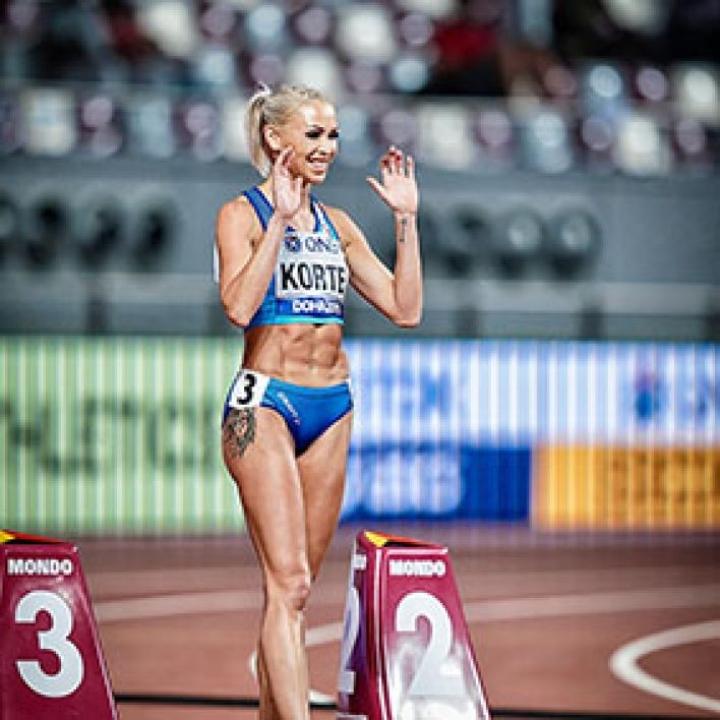 Parempi palautuminen auttoi Annimari Korteen kultasijalle Kalevan kisoissa kesällä 2020