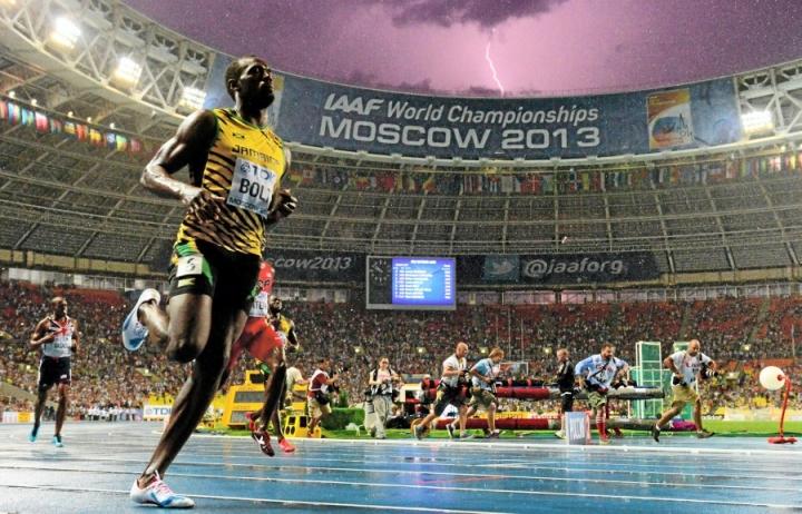 Sade ei haitannut Usain Boltin juoksua.