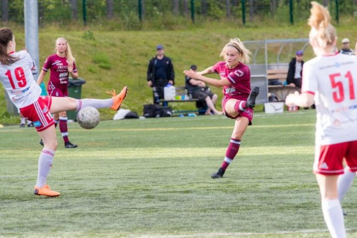 FC Hertta kohtasi vaasalaisen FC Sport juniorit 3. heinäkuuta.