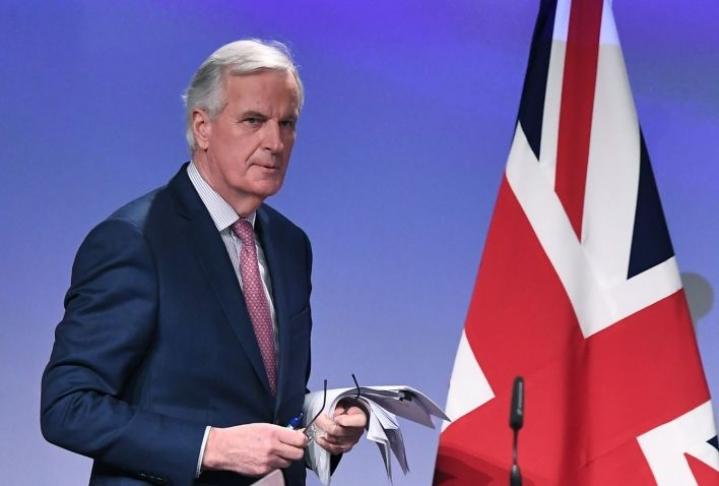 Michel Barnier esittää EU-johtajille, että brexit-neuvotteluille varataan lisää aikaa. Lehtikuva/AFP