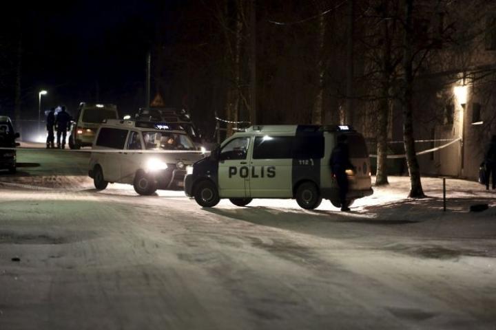 Epäilty henkirikos tapahtui viime vuoden helmikuussa. LEHTIKUVA / GLENN HÄGG