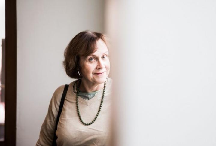Virpi Hämeen-Anttila arkistokuvassa vuonna 2017