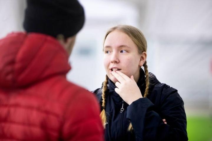 Elina Utriainen sai Hertat melkoiseen lentoon jo viime syksynä. Sama tahti saattaa jatkua, sillä liigaan takaportin kautta nostettu KuPS oli sunnuntaina vastaantulija harjoitusottelussa.