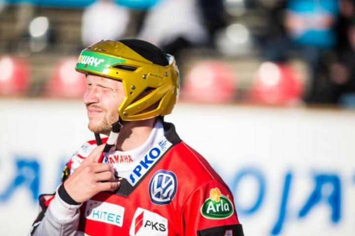 Sami Partanen löi kuusi juoksua Alajärvellä. Partanen arkistokuvassa.