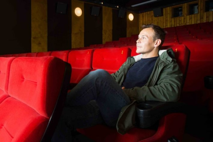 Jesse Haaja on kiertänyt ahkerasti markkinoimassa elokuvaansa.