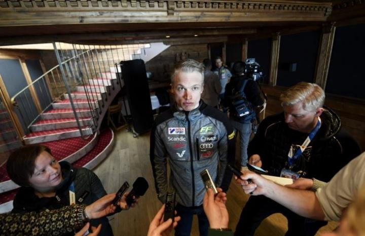 Median tentattavana tiistaina käynyt Iivo Niskanen ei hermoile ennen kauden pääkisaansa, jonka latuprofiilista löytyy kunnon työpätkä.