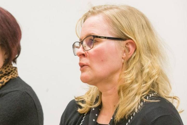 Maakuntahallituksen puheenjohtaja Hanna Huttunen.