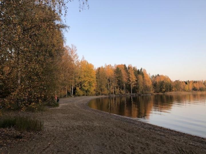 Syyskuun lopussa saatiin nauttia aurinkoisista ja lämpimistä päivistä.