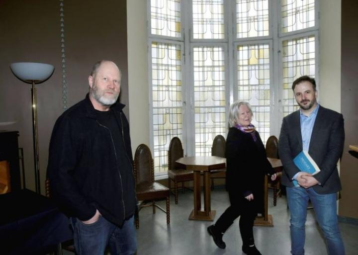 Markku Pölönen, Eila Yrjölä ja Huba Hollóköi ovat tuttu kolmikko joensuulaisista opperaympyröistä.